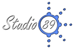 Logo Studio 89, empresa dedicada a la organización de eventos