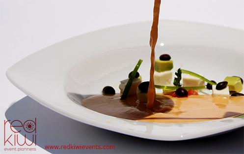 Alimentos y banquetes para eventos sociales