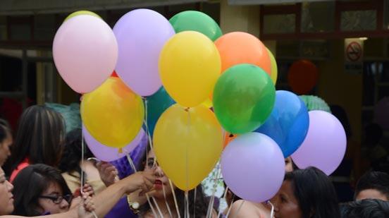 renta Globos de helio para fiestas y eventos
