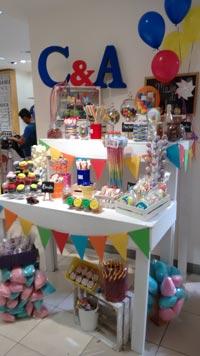 renta de Mesa de dulces vintage y para niños